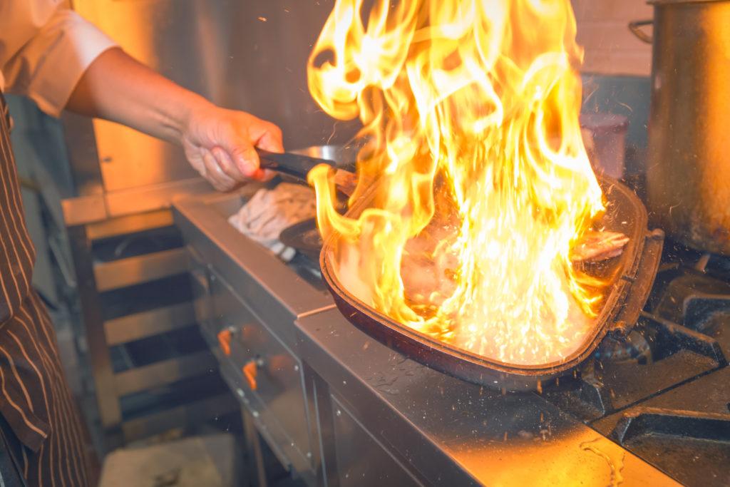 frying pan fire 1024x683 - Best Non Stick Pan